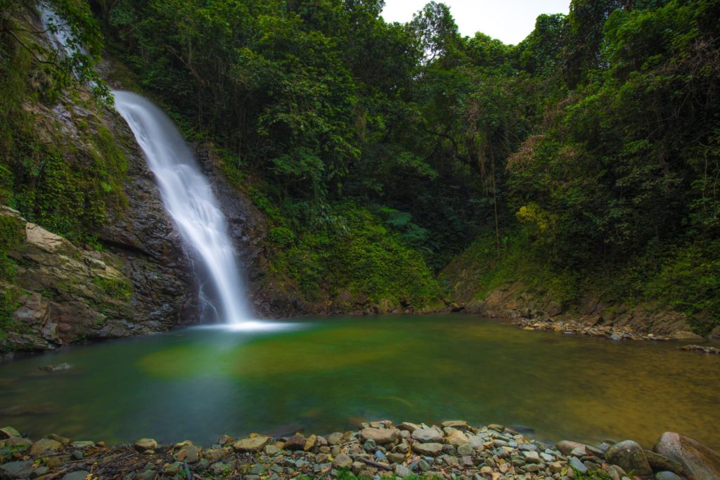 fiji waterfall