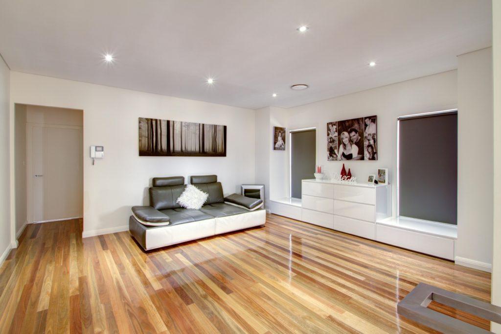 timber floor loungeroom renovation